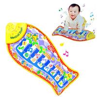 Wholesale New Arrival Baby Piano Music Fish Animal Mat Touch Kick Play Fun Toy Gift amp