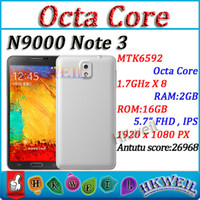 MTK6592 Octa Core H9008 Cell Phone 2G RAM 16G ROM With 5. 8In...