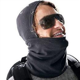 Wholesale 50pc Face Mask Ski Hood Neck Warmers Hoods Balaclava Scarf Motor Helmet parts Advanced Fleeces free size Multi purpose J45