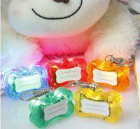 Wholesale LED anti lost pet tag pet ornaments listing
