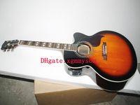 acoustic electric cutaway - Custom J45 Sunburst Acoustic electric guitar cutaway guitar from China
