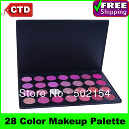 Wholesale Free Shiping Beauty Product Series Wonderful Leading the trend H28 Color Makeup Blush Face Blusher Powder Palette Cosmetic