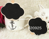 Wholesale 10pcs Mini Cloud Shape Blackboard Chalkboard Peg Clip Wedding Gift Card Favour