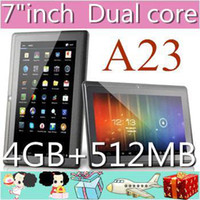 """7 inch Dual Core Android 4.2 DHL-50PCS A23 2014 Cheap Q88 7"""" PRO Dual Core Epad Tablet PC Android 4.2 512MB 4GB NEW JP7-2"""