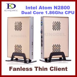 Wholesale KINGDEL Brand Cloud Computer Mini PC Intel Dual Core Ghz CPU RAM GB SSD GB Windows