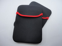 Wholesale sleeve case bag for quot quot tablet pc Mini Notebook Soft Protect Cloth Bag Pouch Cover Case