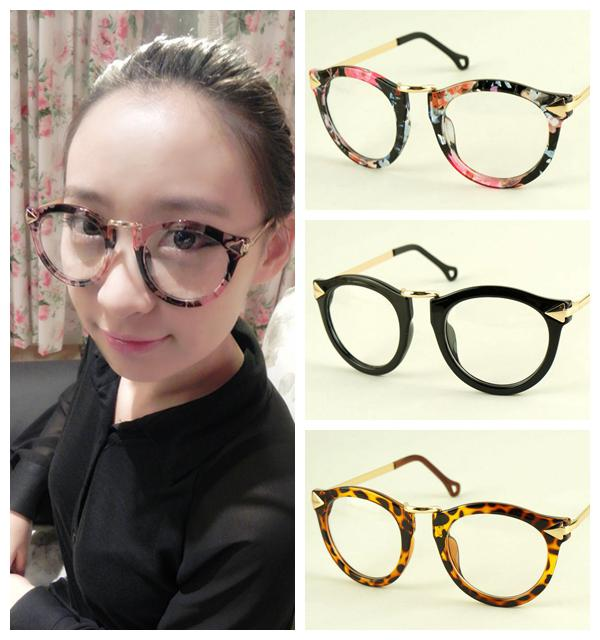 new fashion eyeglasses  2017 Fashion Arrow Eyeglasses New Round Metal Eyewear Glasses ...