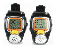walkie talkie watch - 2pc Fashion wrist watch walkie talkie interphone RD Two Way Radio Built in Microphone Free talker adjustable free ship