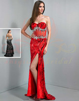 Reference Images Sweetheart Chiffon Backless Stunning WOW Prom Dress sequins corset side 2014 Crystal Sexy pleat Sweetheart beading zipper Formal Evening Dresses Gowns 2014