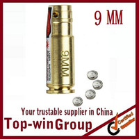 Wholesale Hunting Red Laser Boresighter Bore Sight Caliber Cartridge Boresight Bore Sighter mm Red laser Sight boresighter Copper Scopes