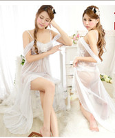 Wholesale La Luna transparent dress sexy lingerie lace princess women do not sack suit uniform temptation