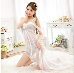 La Luna transparent dress sexy lingerie lace princess women do not sack suit uniform temptation