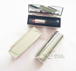 Wholesale Personlized Lipstick Mirror Cases Metal Lipstick Holder Case Drop Shipping