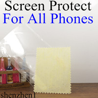 Wholesale High Quality High Clear Screen Protector Protectors Film For iphone5 iPhone S C S Galaxy S5 S4 S3 NOTE HTC ONE M7 P6 L39H Z1