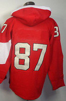 Ice Hockey Men Full Olympic Team Canada Sidney Crosby #87 Old Time Hockey Jersey Hoodies Sweatshirts Free Shipping