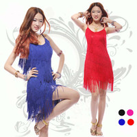 Wholesale sexy latin dance costume dresses colors cheap ballroom dance skirts