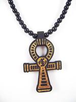 Pendant Necklaces wood cross - Fashion Cross Pendant Necklace Rock Hip Hop Jewelry Good Wood Necklaces GW314