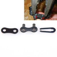 Wholesale 50Pcs Bike Bicycle Chain Master Link Joint Non O ring Clips Repair Parts NI5L
