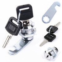 Wholesale and Retail Cam Lock Filing Cabinet Lock Desks Drawers Cylinder Lock With Keys