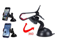 Wholesale New Mobile Phone GPS car holder Mount Holder for iPhone S for iPhone for HTC One for Samsung Galaxy S4