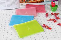fashion pvc purse - New Fashion Portable PVC Grid Wallet coin Purses bag