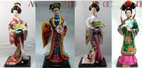 ECO Friendly belles play - cheap Japan Cloth Japanese Geisha Kimono Belle Woman Doll GIRL Lady Play Fan Statue QA styles choose