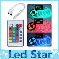 Wholesale 2014 Brand New V Key Wireless IR Remote Control RGB LED Mini Controller Dimmer for LED Strip channels