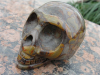 Wholesale quartz Carved Crystal Skull Realistic Crystal Healing