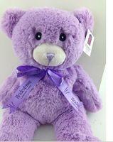 Wholesale Australia Lavender Bear Bridestowe Lavender Heat Bear microwave oven heat up vaporizer Teddy Bear Plush Toys Purple Bear