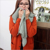Cheap free shippingRecommended Exclusive Pure wool winter scarves Korean female Korean winter warm scarf long weijin
