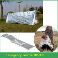 Wholesale 1pcs Waterproof Emergency Survival Foil Thermal First Aid Rescue Blanket x cm