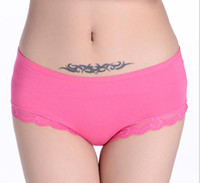 wholesale ladies wear - Hot Selling Mommy pants size Ladies Underwear Panties Women Sexy Briefs Sexy Club Lingerie Bamboo Fier Low Wast ladies lace wear
