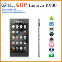 Best Top quality Original Lenovo K900 Intel 2.0GHz Dual Core 2G+16G Android 4.2 OS 5.5'' 1920x1080 FHD IPS Screen 64Multi-Language