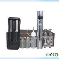 Cheap Electronic Cigarette VAMO Best Case white chrome Smart opperation system