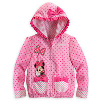 Wholesale Children s Spring Autumn Hooded Dots Coat European Style Sizes Y Long Sleeve Baby Clothing Outfits Sets Tank Tops