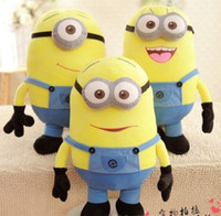 Wholesale Despicable Me Minion Plush Doll D Eyes Minions Dave Jorge Stewart Plush Toy inch inch