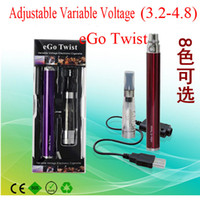 eGo Twist CE5 Electronic Cigarette Kits CE5 Atomizers Adjust...