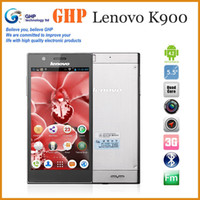 Best Original Lenovo K900 Intel Z2580 2.0GHz Dual Core 2G+16G Android 4.2 Android phone 5.5'' 1920x1080 FHD IPS Screen!