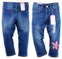 Wholesale 2014 Newest Girls Jean Flower Girl s Jeans Y Casual Children s Jeans Boys Pants