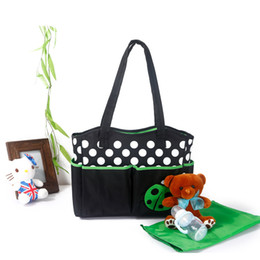 Wholesale Fashionable Oxford Mummy Bags portable hand bags baby handbags free shiping