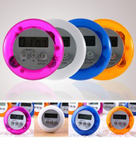 Wholesale Digital LCD Timer stop Watch Clock Alarm Kitchen Cooking Countdown different color DHL
