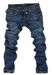 Wholesale dropshipping men s new arrival high quality Nine minutes of jeans cotton