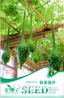 Wholesale 1Bag Crane Head gourd Seed Vegetables Seeds Shaped Natural Organic Green Food