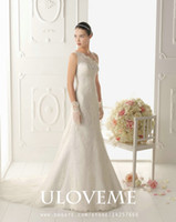 A-Line Reference Images One-Shoulder One-Shoulder Sweetheart Neckline Lace Appliques 194 Ostento Wedding Dresses Bridal Gowns Aire Barcelona 2014 1-ll