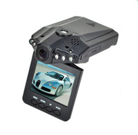 Wholesale Drop shipping H198 Car DVR Camera with Inch Degree Rotated Screen IR LED Night Vision Car Camera Camcorder
