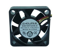 Wholesale DELPHI A4010H12UD A V A Wire For HDTV ATOM HTPC Case fan Cooling Fan