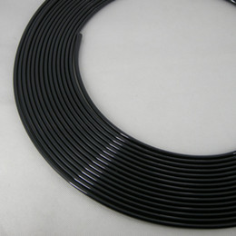Wholesale 4 M Feet Door Moulding Stripe Trim Guard Edge Protection black