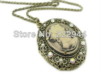Wholesale Antique fashion aulic graceful cameo necklace