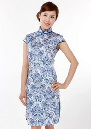 Wholesale Traditional chinese ethnic clothing cheong sam sexy cheongsam Chinese cheongsam fashion satin dress sexy cheongsams silk cheongsams A20