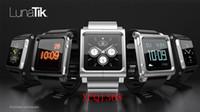 Yes Metal For Apple Ipod Nano 6 LunaTik LYNK all metal Aluminum Watch Band Wrist Strap for iPod Nano 6 100Pcs lot with retail box Fedex free shipping